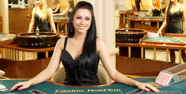 Online casino for playing baccarat